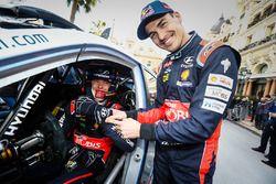 Thierry Neuville, Daniel Sordo, Hyundai Motorsport