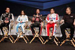 Kevin Harvick, Danica Patrick, Kurt Busch, Tony Stewart, Team Stewart-Haas Racing