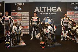 Markus Reiterberger, Jordi Torres und Raffaele De Rosa, Althea Racing