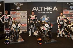 Markus Reiterberger, Jordi Torres ve Raffaele De Rosa, Althea Racing