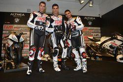 Markus Reiterberger, Jordi Torres et Raffaele De Rosa, Althea Racing