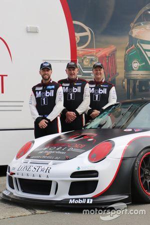 Chris van der Drift, Allan Dippie, Harrison O'Donnell, Mobil 1 New Zealand, Porsche 997 GT3 Cup