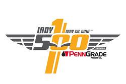 Neues Logo für das Indy 500 mit Sponsor PennGrade Oil