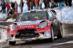 Stéphane Lefebvre, Gabin Moreau, Citroën DS3 WRC, Abu Dhabi Total WRT