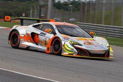 #3 Clearwater Racing McLaren 650S GT3 : Weng Sun Mok, Rob Bell, Keita Sawa