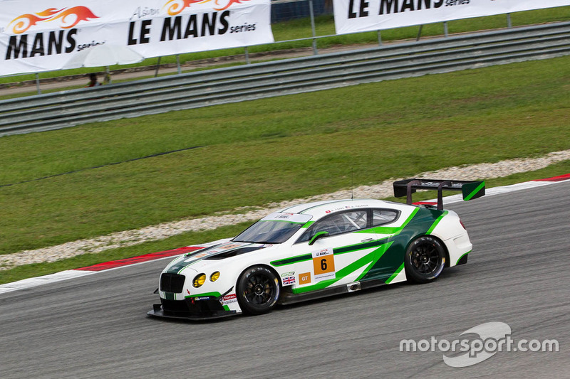 #6 Bentley Team Absolute Bentley Continental GT3 : Adderly Fong, Andrew Palmer