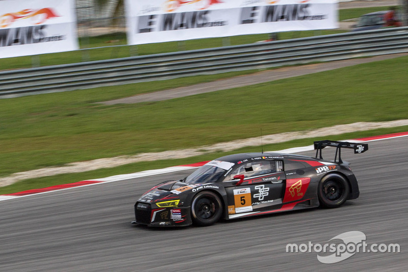 #5 Absolute Racing Audi R8 LMS 2016 : Jeffrey Lee, Alessio Picariello, Christopher Mies