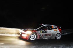 Robert Kubica, Maciek Szczepaniak, Ford Fiesta WRC