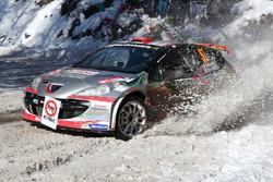 François Delecour, Sabrina de Castelli, Peugeot 207