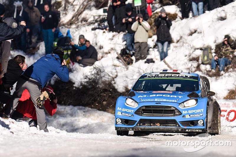 Éric Camilli, Nicolas Klinger, M-Sport Ford Fiesta WRC