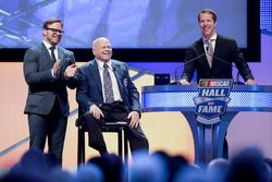 Marcus Smith ve babası, Bruton Smith ve Brad Keselowski