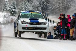 Сергей Успенский и Марина Данилова, Subaru Impreza WRX STi R4