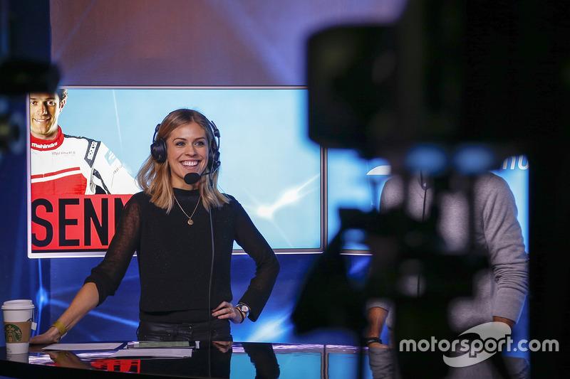 La présentatrice Nicki Shields