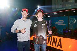 Bruno Senna with a winner