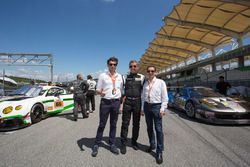Cyrille Taesch-Wahlen, Asian Le Mans Series operations manager, Christophe Profit, Onroak Automotive