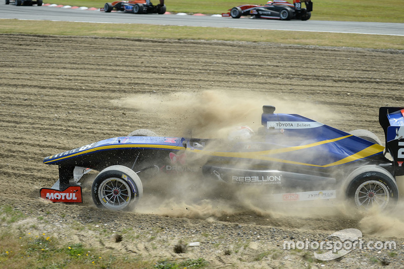 Timothe Buret crash