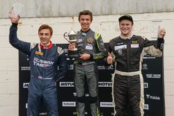 Podium: winner Lando Norris, second place Brendon Leitch, third place Artem Markelov
