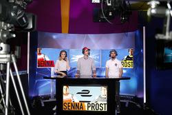 Bruno Senna, Nicolas Prost, Nicki Shields