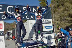 Winners Sébastien Ogier, Julien Ingrassia, Volkswagen Polo WRC, Volkswagen Motorsport