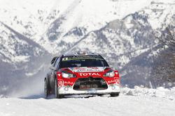 Kris Meeke, Paul Nagle, Citroën DS3 WRC, Abu Dhabi Total WRT