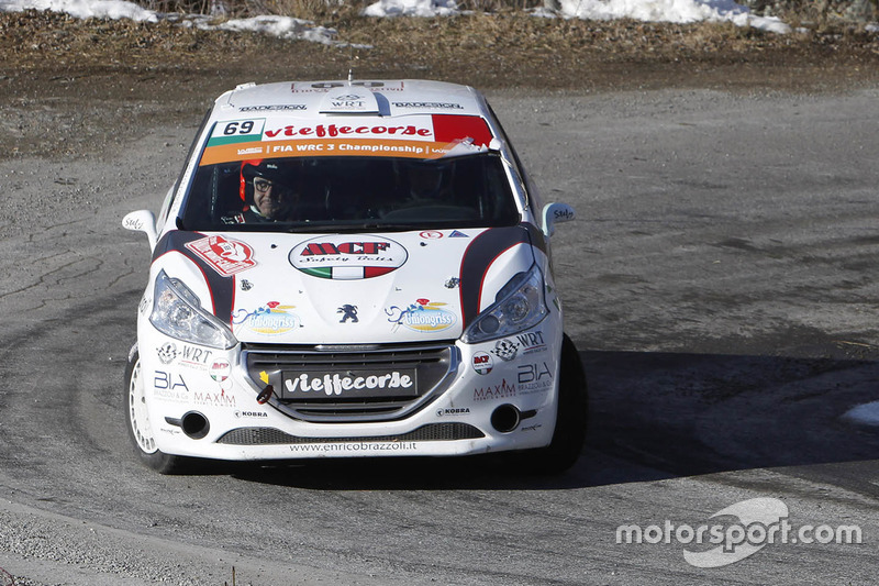 Энрико Браццоли и Маурицио Бароне, Peugeot 208