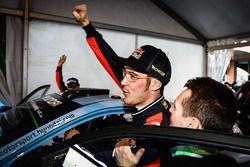 Third place Thierry Neuville, Hyundai Motorsport