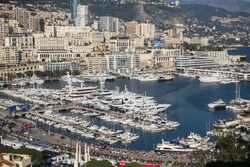 Monaco harbour atmosphere