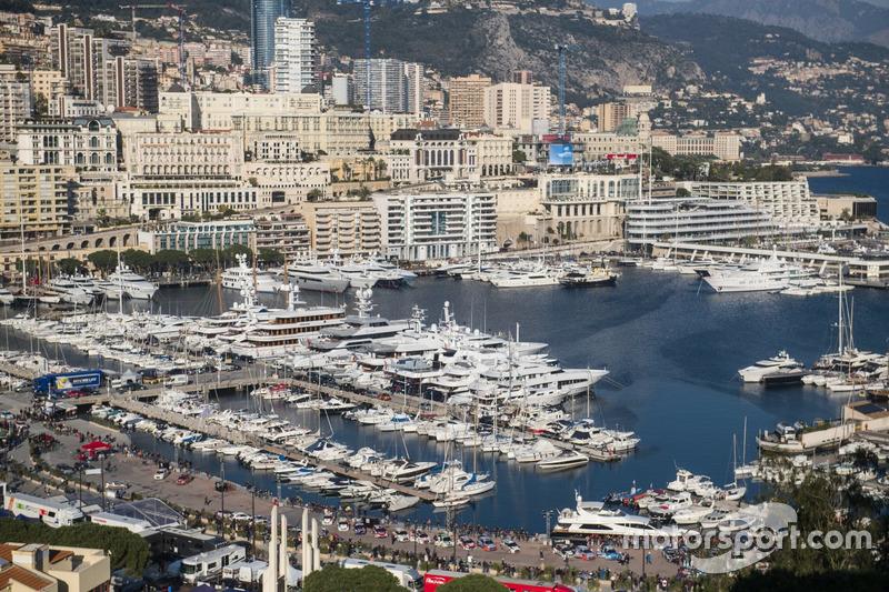 Monaco Hafenatmosphäre