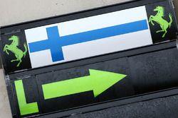 Pit board signs for Kimi Raikkonen, Ferrari