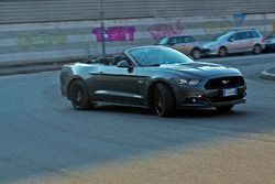 Ford Mustang GT Convertible, il test