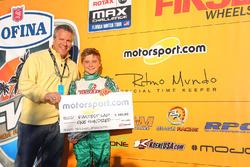 Ryan MacDermid and Motorsport.com's Scott Sebastian