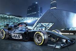 Designstudie des Haas F1 Teams