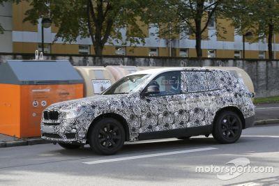 BMW X3 2018谍照