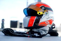 Casco del numero 11 Carlin: Ed Jones