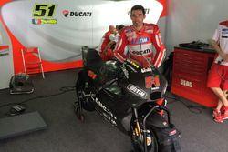 Michele Pirro, Ducati Team with the new Ducati GP17
