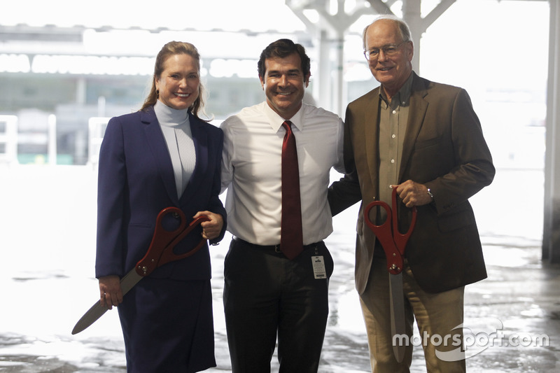 Lesa France Kennedy, CEO, International Speedway Corporation, Joie Chitwood III, President, Daytona