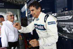 Bernie Ecclestone en Nelson Piquet