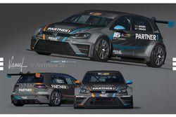 VW Golf TCR, Milo Racing