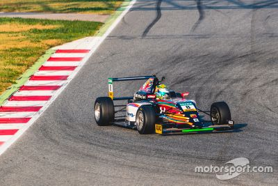 F4 Germany: December Barcelona testing