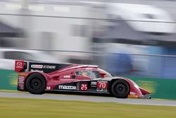 Джоеэль Миллер, Том Лонг и Бен Девлин, #70 Mazda Motorsports Mazda Prototype