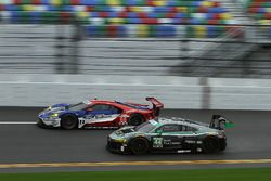 #44 Magnus Racing Audi R8 LMS: John Potter, Andy Lally, Marco Seefried, René Rast and #66 Ford Performance Chip Ganassi Racing Ford GT: Sébastien Bourdais, Joey Hand, Dirk Müller