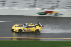 Оливер Гэвин, Томми Милнер и Марсель Фесслер, #4 Corvette Racing Chevrolet Corvette C7.R