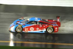 Лэнс Стролл, Александр Вурц, Брендон Хартли и Энди Приоль, #01 Chip Ganassi Racing Riley DP Ford