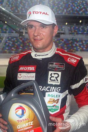 Обладатель поула - Михаил Алёшин, #37 SMP Racing BR01 Nissan