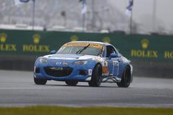 #27 Freedom Autosport Mazda MX-5: Брітт Кейсі-молодший, Данні Бендер