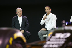 (L to R): Jerome Stoll, Renault Sport F1 President with Cyril Abiteboul, Renault Sport F1 Managing Director