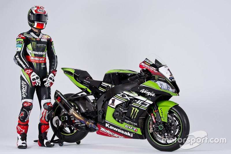 Jonathan Rea con la Kawasaki Ninja ZX-10R