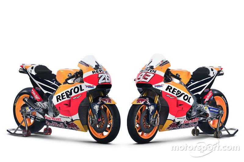 Honda RC213V 2016 de Dani Pedrosa, Repsol Honda Team and Marc Marquez, Repsol Honda Team
