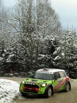 Валерий Горбань и Владимир Корся, Mini John Cooper Works WRC