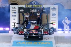 Winnaars Sébastien Ogier, Julien Ingrassia, Volkswagen Motorsport